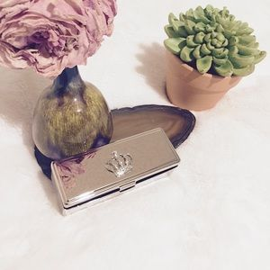 Other - 💄Beautiful, Crystal Crown Lipstick Case & Mirror
